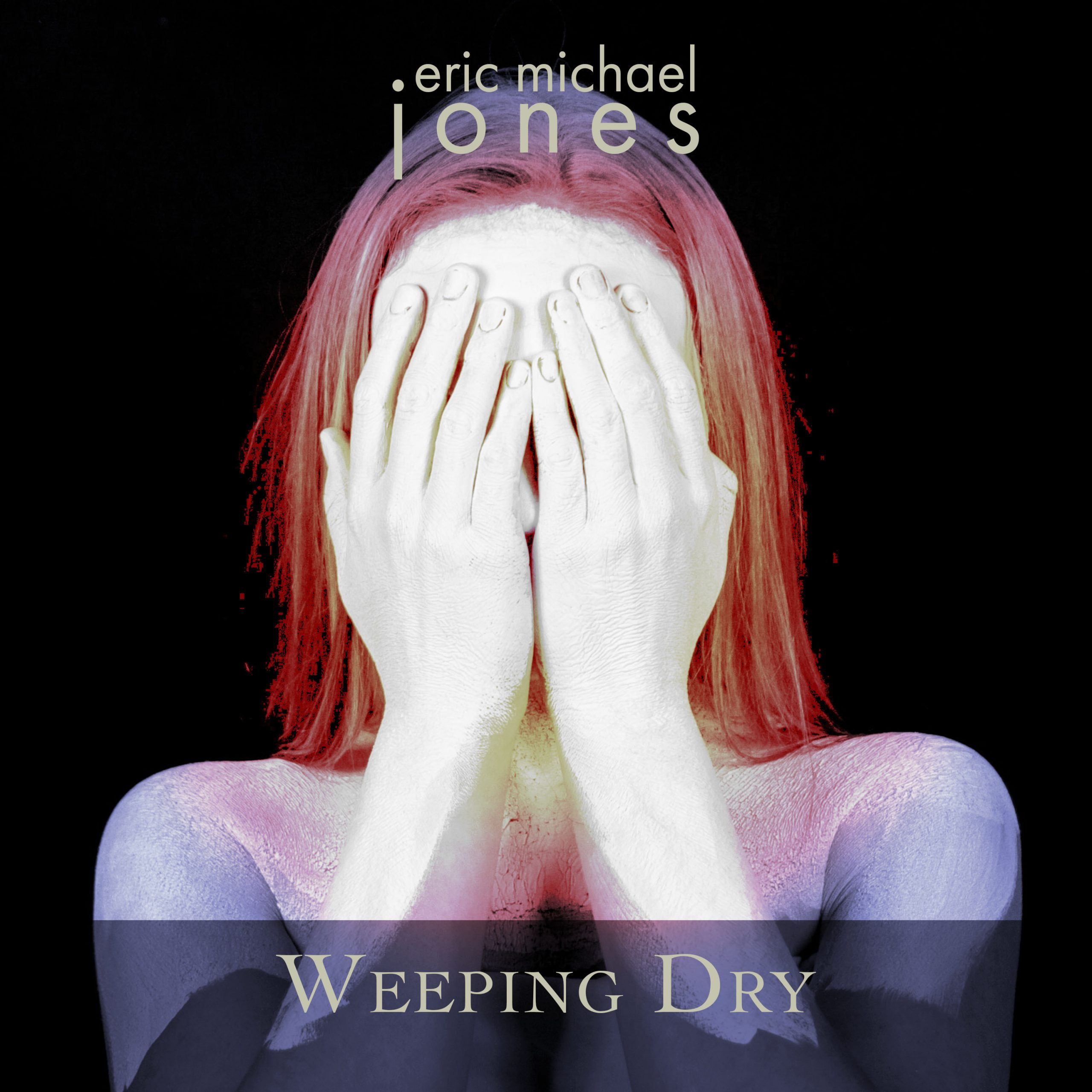Cover art for Weeping Dry, showing a woman covering her face with her hands