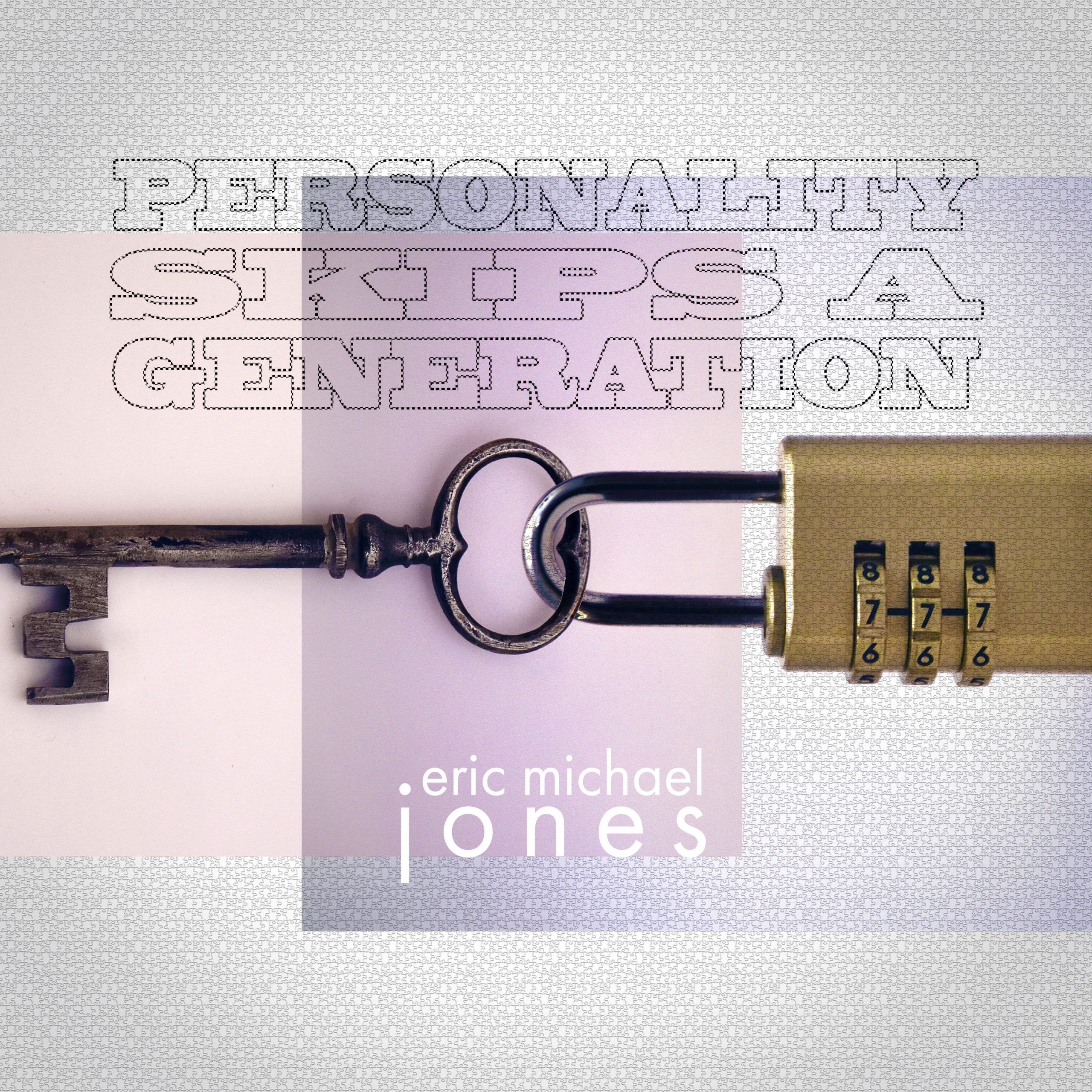 Cover art for the song Personality Skips A Generation shows a key attached to a padlock